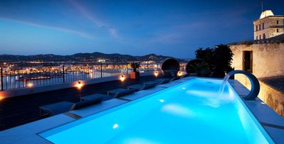 Photo for El Alcázar, 7bd historic villa with roof terrace in Ibiza Old Town