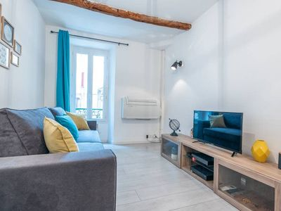 Photo for Cannes Old City 4 pax cosy apartment