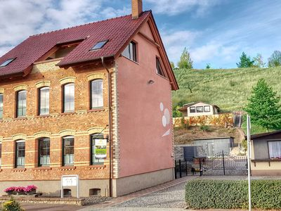 Photo for Large apartment in the Harz with private entrance, fireplace, garden and roof terrace