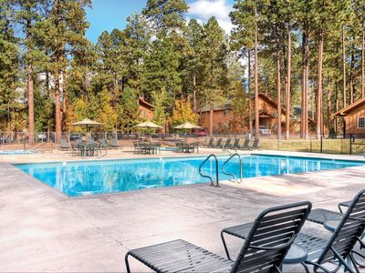 Photo for Cozy Studio w/ Fireplace, Private Balcony, Resort Pool & Two Hot Tubs