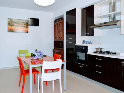 Photo for Le Case Di Carlo 4 apartment in San Vito Lo Capo with WiFi, air conditioning, private roof terrace …