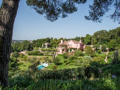 Photo for Stylish and Secluded adjoined villas with pools, beautiful gardens & views,