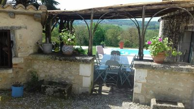 Photo for a romantic and very peaceful  authentic French farm near dordogne