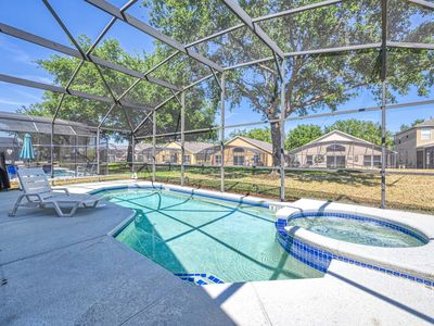 Photo for Home with Private Pool and Jacuzzi near Disney