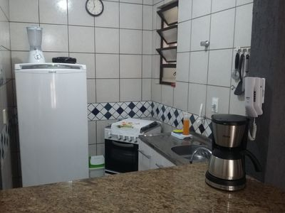 Photo for Great Apartment w / split air Wifi Balcony with Barbecue and Private Garage