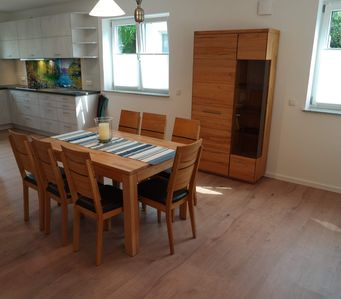 Photo for Large ground floor apartment (3 ZKB, barrier-free from Oct)