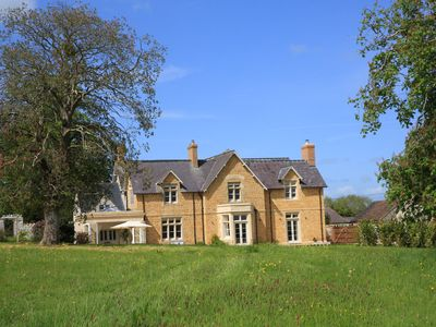 Photo for Entire guest wing of large Somerset country house - ideal for weekend getaways
