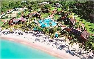 "Aerial Shot Of The Gorgeous And Secluded ""Westin St. John"" Resort!"