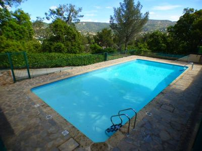 Photo for THE FAVIERE - SEA VIEW. SWIMMING POOL. WELL EQUIPPED. 2 ROOMS 4 PERS.