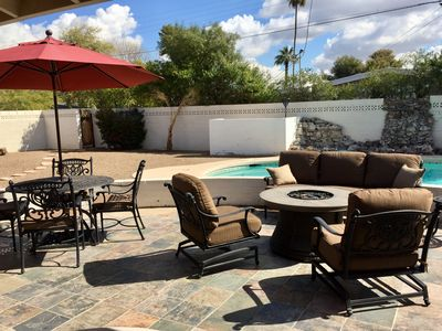 Photo for ASU, Tempe Phoenix Retreat mins to Scottsdale, Large Pool, 5 bedrooms
