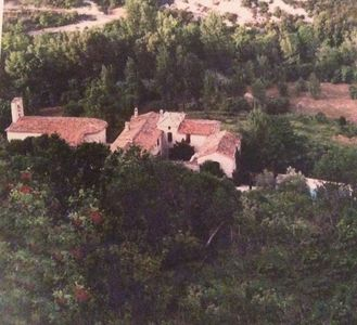 Photo for Priory of the 14th century: detached apartment in Gorniès, in the Vis Valley