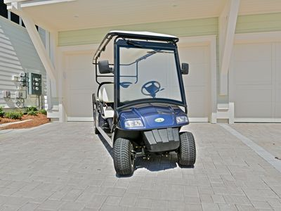 "Photo for ""Beach Blessed"" at Prominence - 6 Seater Golf Cart With Rental!"