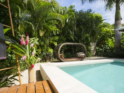 Photo for Balinese luxury Villa, few steps from Hermosa beach, private pool