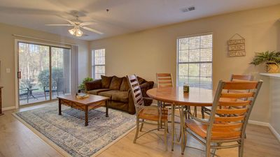 Photo for Enjoy a Green Getaway in this 1st Floor Condo overlooking the 1st Hole