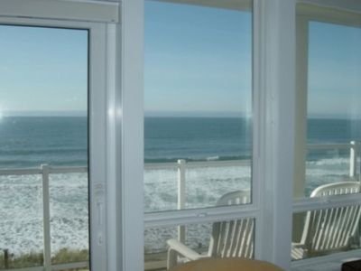Photo for Only $170/Night** - Hot Tub, Oceanfront w/ Upper Floor Views from Master