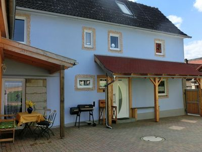 Photo for Holiday Home in Kimmelsbach with Terrace, Garden, Sauna, Pond