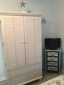 Armoire in Bedroom