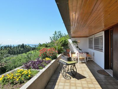Photo for Apartment La Fiore 2 With Pool - Apartment for 6 people in Toscolano-Maderno
