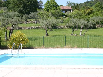 Photo for At the heart of Provence, in a private area of ​​13 hectares. Quiet and smooth