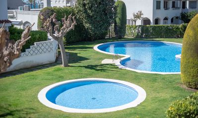 Photo for R86 Terraced house 50 m from the beach Calafell
