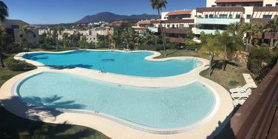 Photo for HIGH STANDING APARTMENT MARBELLA / GOLF LOS FLAMINGOS pools / beaches / WIFI