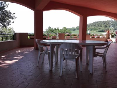 Photo for APARTMENT WITH PANORAMIC TERRACE