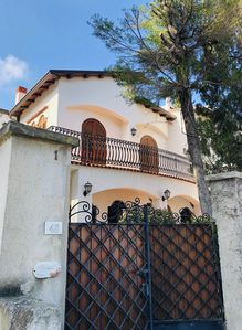 Photo for Beautiful and elegant villa in front of the beach in Capo d'Orlando/San Gregorio