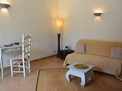 Photo for Nice ground floor 2 bedroom (clim) Ste Maxime near downtown and beach