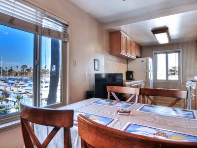 Photo for Walk to Harbor Village or Pacific Ocean! Perfect Couple's Getaway - Marina View 201B