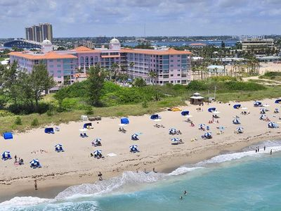 Photo for Private Beach Front resort located on Singer Island in exclusive palm beach FL