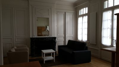 Photo for Furnished apartment in a beautiful manor house with direct access to the park