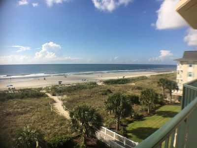 Photo for 3 Bedroom Direct Oceanfront Condo! Outdoor Swimming Pool, WIFI, Jacuzzi Tub
