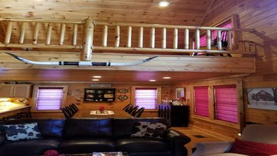 Photo for Longhorn Lodge in Maggie Valley close to skiing, hiking, rafting  and Asheville