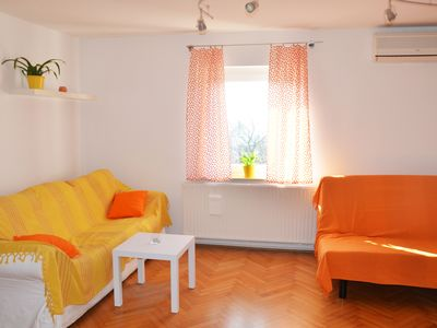 Photo for Sunny place in Ljubljana with a great view, parking, next to highway, WiFi,...