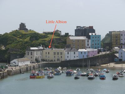 Photo for 1BR Apartment Vacation Rental in Tenby