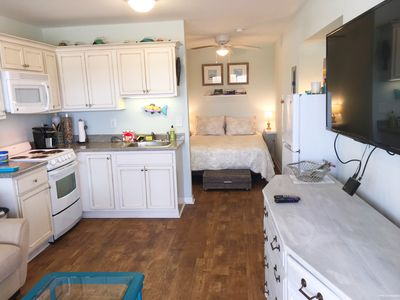 Photo for Modern Designed Studio_Oceanfront Community_WiFi_Pool_Linens Included_Kitchen