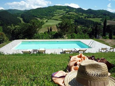 Photo for Villa Beatrice is a chrming home between Tuscany and Emilia Romagna, private pool, 3 bedroom 3 bathr