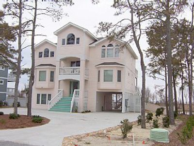 Photo for Sound Front Vacation Home w/  Private Pool, Hot Tub -