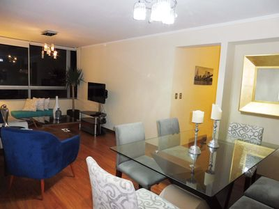Photo for LIMA MIRAFLORES 3BED CITY VIEWS