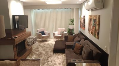 Photo for LUXURY FIT WITH 300mts R. COVERED, 2 BEDROOMS, 2 BATHROOMS, FURNISHED (103C)