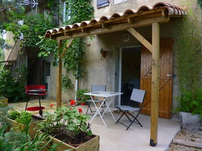 Photo for charming studio in the countryside at the foot of the Cevennes