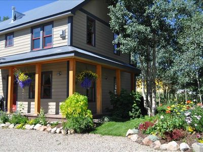 Photo for Beautiful 4BR Crested Butte Home — Private Location