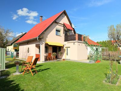 Photo for Vacation home Balaton H361 in Balatonmariafurdo - 9 persons, 4 bedrooms