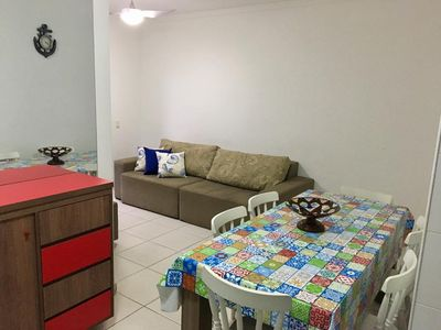 Photo for Beach Great Apt. end of the beach (Toninhas direction) with heated and heated pool