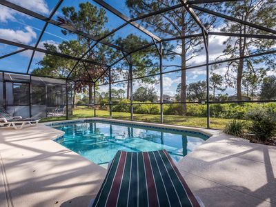 Photo for Pool Home on the golf course - close to Disney