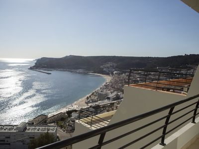 Photo for Luxury 4 bed Duplex with unrivaled view of Sesimbra