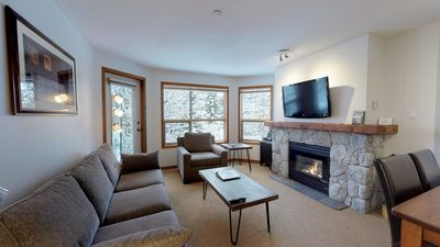 Photo for Prime Ski-in Ski-out Location! Pool, Hot tubs, BBQ, sleeps 4 (443)