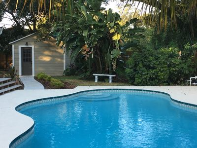 Photo for Private Guest Suite in Seminole Heights w/ pool - central to everything!