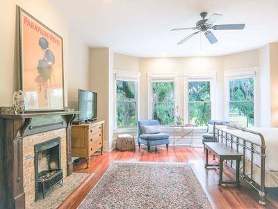 Photo for Stay with Lucky Savannah: Well Appointed Row Home Looking Out On Forsyth Park