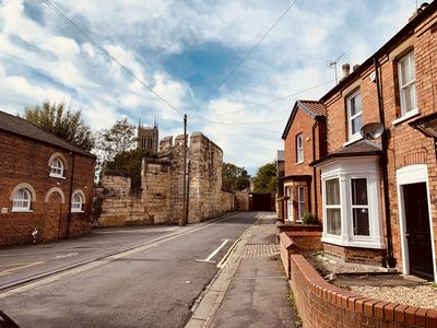 Photo for Stunning house near Lincoln Cathedral with free driveway parking for  two cars